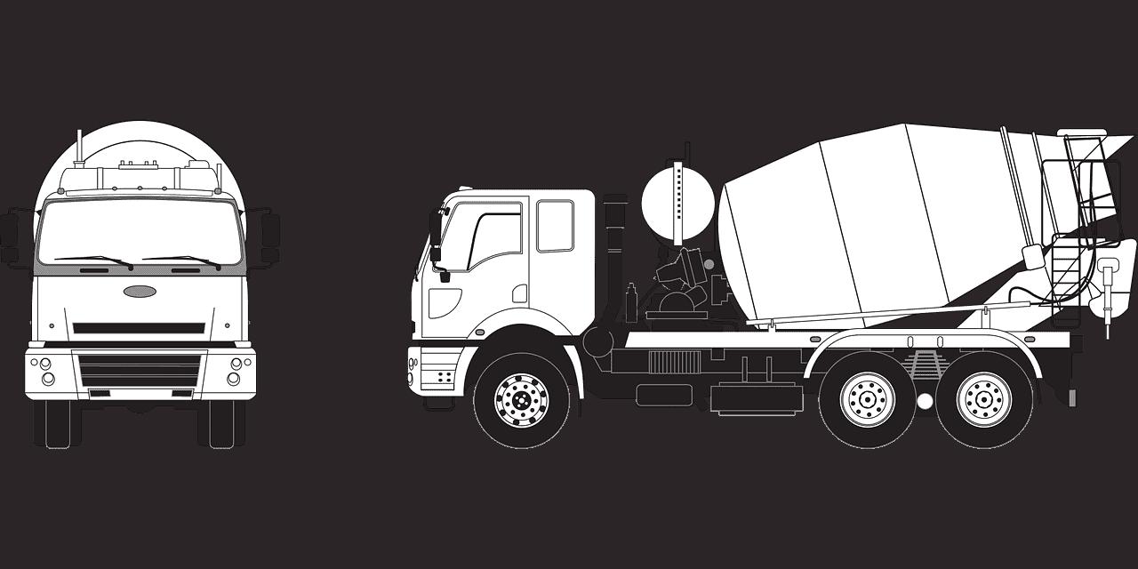 משאית בטון